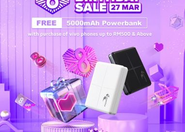 Vivo Malaysia is offering One-Day Special Deals on Lazada Birthday Sale