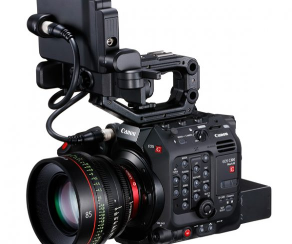 "Canon launches New EOS C300 Mark III Digital Cinema Camera and expands its ""CINE-SERVO"" Series of Canon Cinema Lenses"
