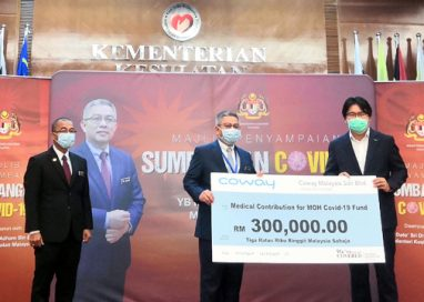 Coway Malaysia donates RM300,000 to Ministry of Health
