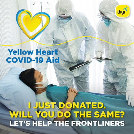 Digi launches COVID-19 Aid crowdfunding initiative to support medical frontliners