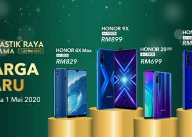 HONOR kicks off Fantastik Raya Bersama Campaign with New Prices