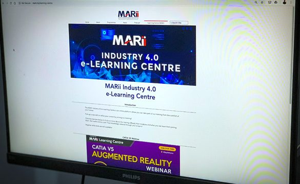 MARii launches e-learning platform – MARii Industry 4.0 e-Learning Centre, ensuring continuous development of Industry 4.0 knowledge and skills