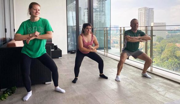 Nestlé CEO joins thousands of Malaysians to the beat of MILO Rentak Aktif fitness routine via livestream