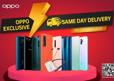 OPPO offers Same Day Delivery from 15th – 28th April 2020