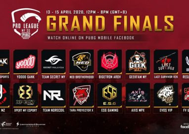 PUBG MOBILE Pro League MY / SG S1 Grand Finals Play-Off begins!