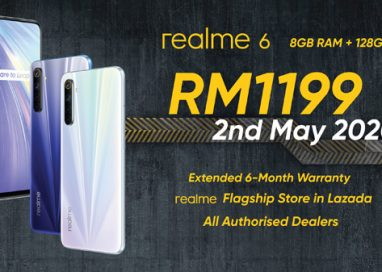 Malaysians get New Variant of realme 6