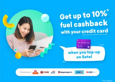 Earn Cashback with Credit Card Top-Up on Setel