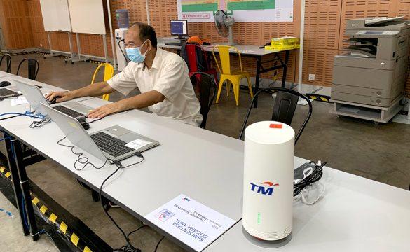TM deploys 5G Base Stations at 2 Covid-19 Quarantine Centres