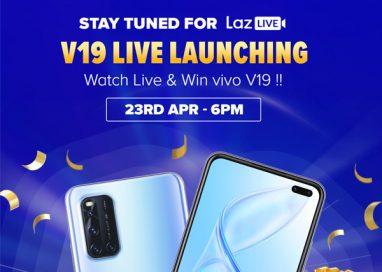 Vivo V19 Live Launching: Watch & Win on Laz Live