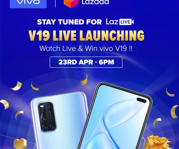 Vivo V19 Live Launching: Watch & Win on Laz Live