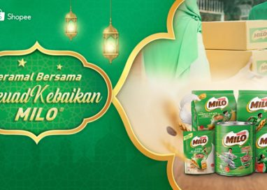 #SkuadKebaikan MILO on Shopee spreads the goodness of Nutritious Eenergy to Communities most in-need this Ramadan