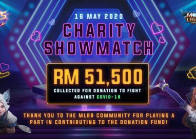 Mobile Legends: Bang Bang 515 eParty Charity Showmatch provides Donation to fight Covid-19 Pandemic