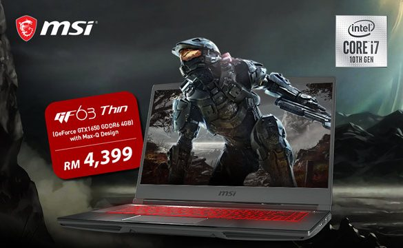 MSI's Intel 10th Gen Laptops are Now Available in Malaysia