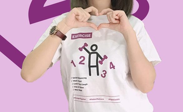 Printcious launches unique T-shirt designs to remind the public to take extra safe measures
