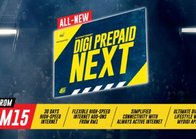 All New Digi Prepaid NEXT offers 30 days high-speed internet from RM15