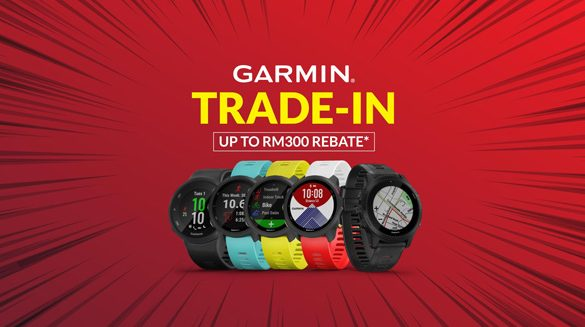 Garmin Malaysia announces Trade-in Promotion