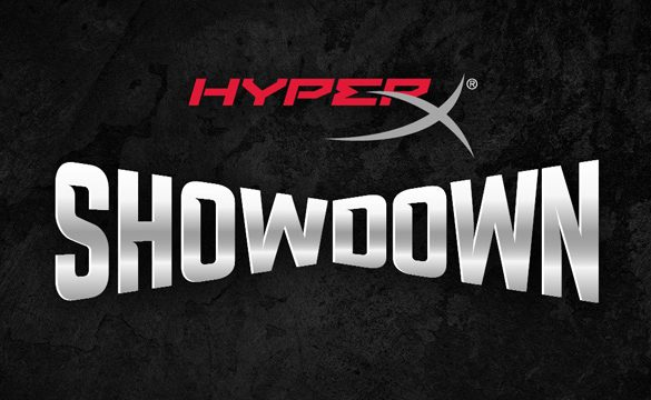 HyperX announces New Gaming Series – HyperX Showdown