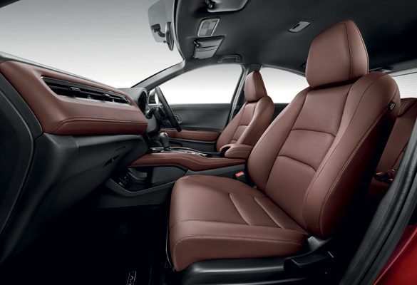 Honda HR-V RS Now Available in Classy Dark Brown Leather Interior