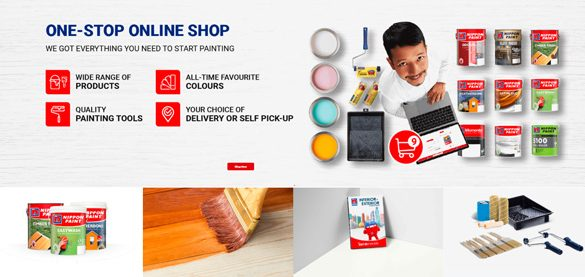 Nippon Paint launches Malaysia's First E-Store for the Coatings Industry