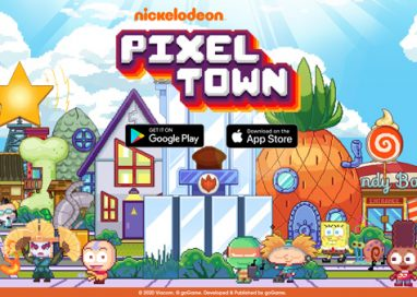 Nickelodeon Pixel Town moves into Google Play & Apple App Store today!