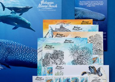 Pos Malaysia issues New National Definitive Stamp Series featuring Iconic Marine Life
