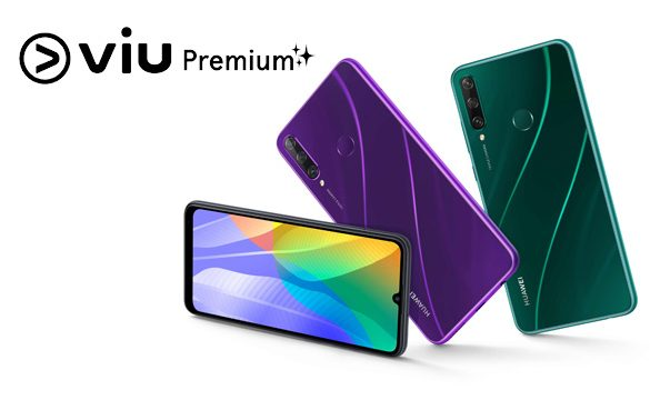 Free Premium Access to Viu exclusively for Huawei Y6p Users