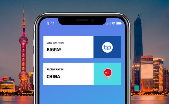 BigPay launches remittance service to China via Alipay in a key move to support families and recovering economy