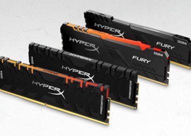 HyperX adds New Predator DDR4 RGB and FURY DDR4 RGB Memory Modules up to 256GB