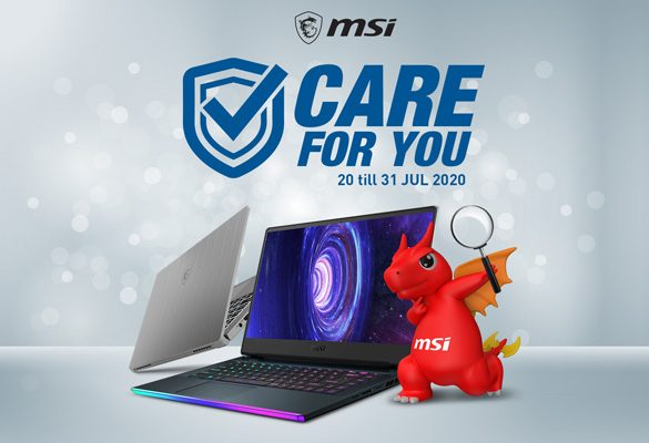 MSI Care for You! Free Health Check for MSI Laptops is Back, again!