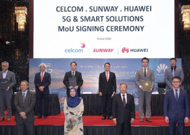 Sunway, Celcom, and Huawei in Malaysia's First Tripartite Collaboration to advance 5G and explore Smart Solutions