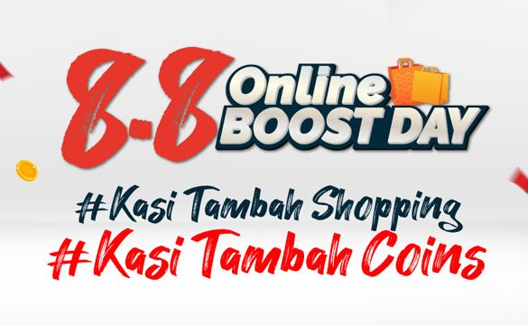 Save More when You Shop on 'Online Boost Day'