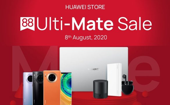 Celebrate 8th August with RM88 Voucher on HUAWEI Accessories and Enjoy Great Benefits from HUAWEI Store Pick Up Service