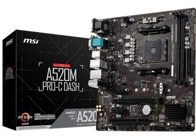 MSI announces AMD A520 Motherboards