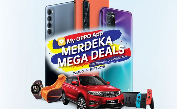 Going Merdeka! with OPPO Merdeka Mega Deals and Get Lucky to Win a Proton X70!