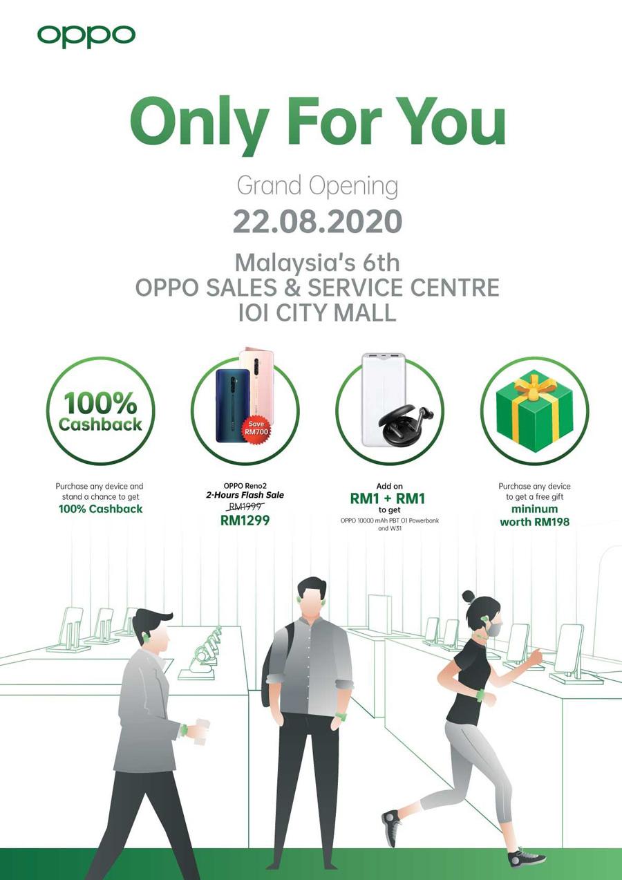 OPPO Sales and Service Center IOI City Mall