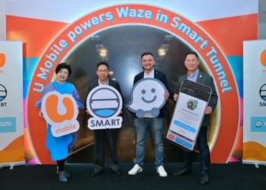 U Mobile is the First Telco to power Waze in SMART Tunnel for All Drivers with Latest Partnership