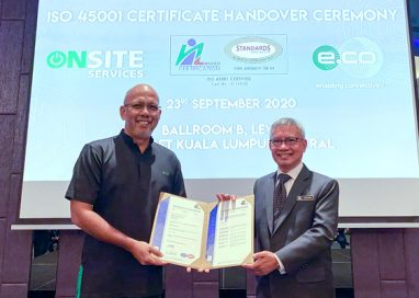 edotco Malaysia awarded ISO 45001 Certification for Best-in-Class Occupational Health & Safety Practices