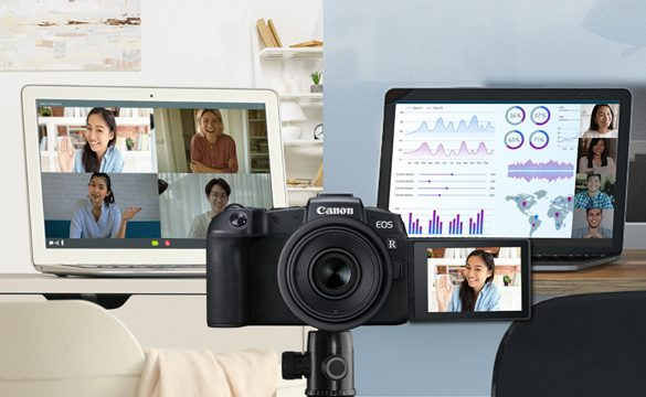 Canon unveils the Full Production Version of EOS Webcam Utility Software