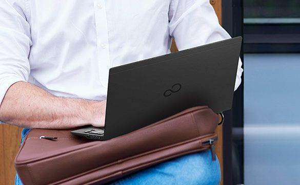 Fujitsu Client Computing Ltd. introduces the light, minimalist-designed, Fujitsu UH-X for modern working professionals