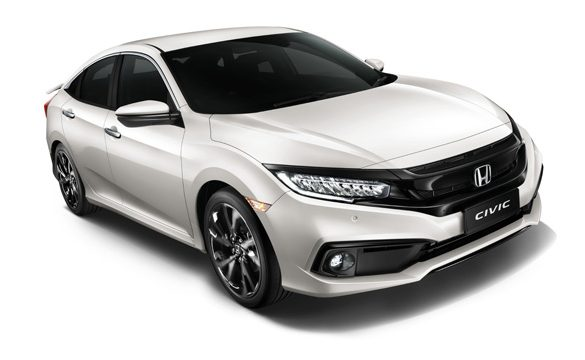 Honda Malaysia introduces New Platinum White Pearl Colour in Civic and New BR-V