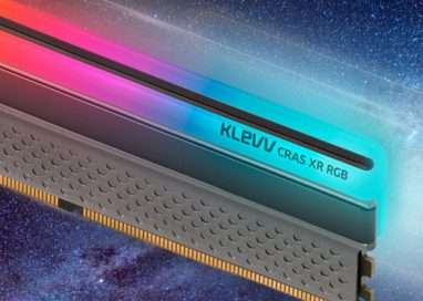KLEVV launches CRAS XR RGB and BOLT XR DDR4 Gaming Memory, featuring Enhanced Frequency with Refreshed Designs