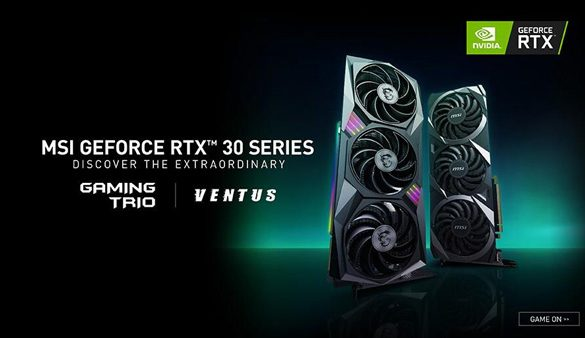 MSI unveils First Custom NVIDIA Geforce RTX 30 Series