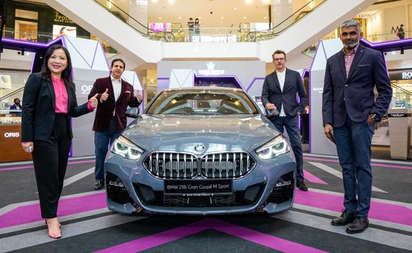 BMW Malaysia unveils the First-Ever BMW 218i Gran Coupé M Sport