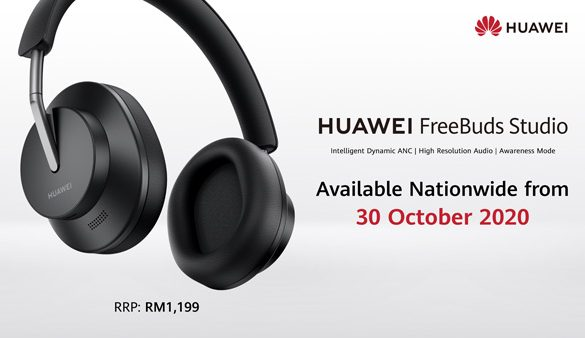 HUAWEI unveils its First Flagship Over-Ear Headphones – FreeBuds Studio, Available Nationwide at RM1,199 from 30th October