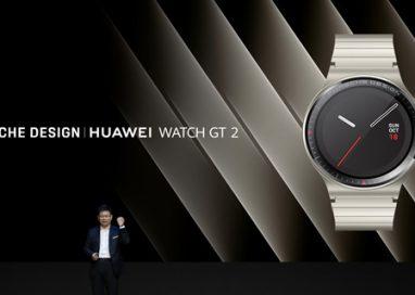 Porsche Design and HUAWEI unveil Porsche Design HUAWEI Watch GT 2