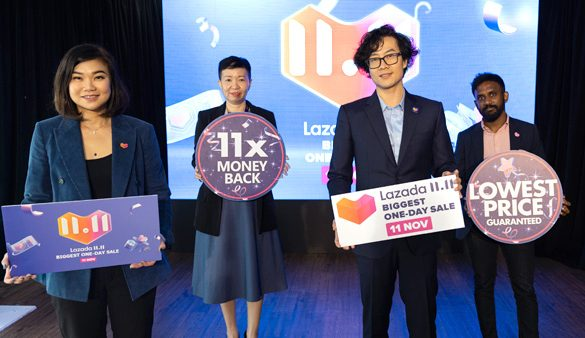 Lazada's 11.11 Biggest One Day Sale dares Consumers to Beat its Lowest Price Guarantee with 11 Times Money Back Assurance