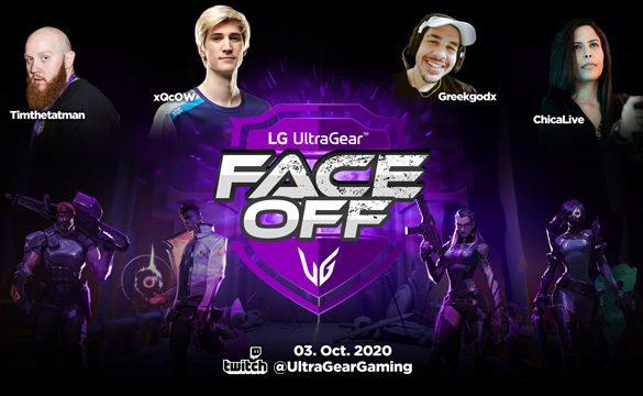 LG UltraGear FACE-OFF Tournament to decide Best Valorant Player
