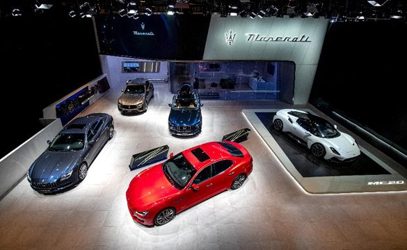 Maserati Super Sports Car MC20 makes its Chinese Debut at Auto China 2020