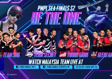 Top 16 Teams in Southeast Asia to compete in PMPL Sea Finals S2, from 23-25 October