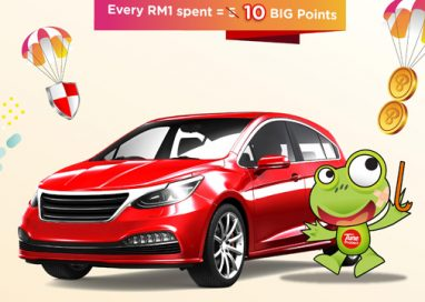 Earn 10 BIG Points for every RM1 spent and Save up to 20% with Pay-As-You-Drive (PAYD)
